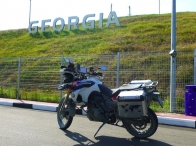 Georgian border