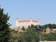 il castello reale che sovrasta Bratislava