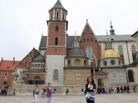 la cattedrale sulla collina del Wawel