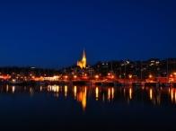 Flensburg la sera