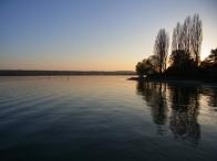 il Lago di Costanza al tramon