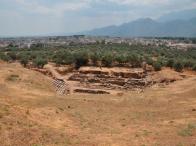 Sparta, rovine in stato di abbandono