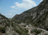 La strada 82 Sparta-Kalamata