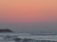 ultimo tramonto del 2011 a Tan Tan Plage