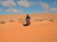 i primi giochi nella sabbia presso Guermassa