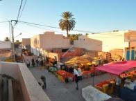 risveglio nel mercato di Douz