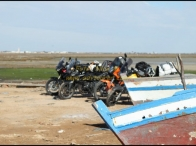 pausa foto nei pressi di Sfax
