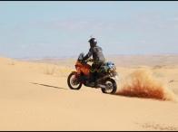 assaggio di dune vicino al cafè Loutid