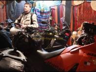 il nostro garage a Douz