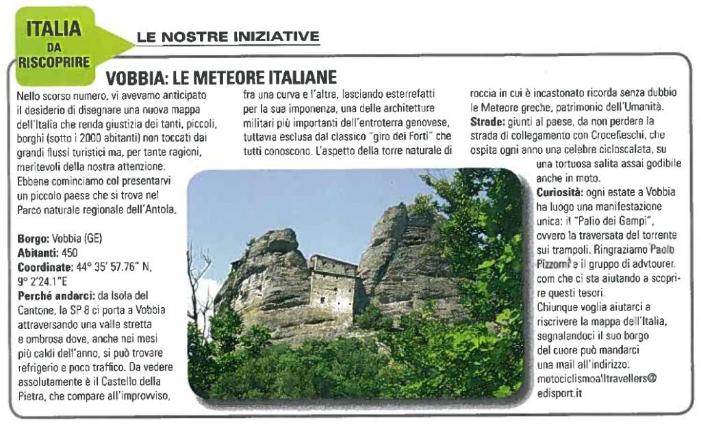 """il nostro articolo sulla prestigiosa rivista """"Motociclismo"""""""